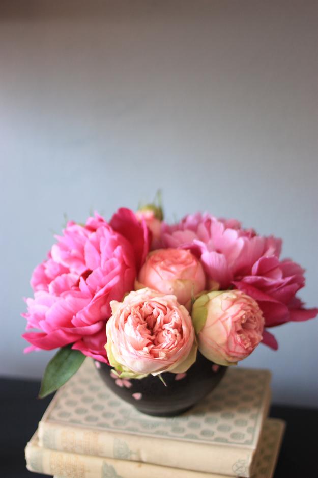 kenzan bouquet