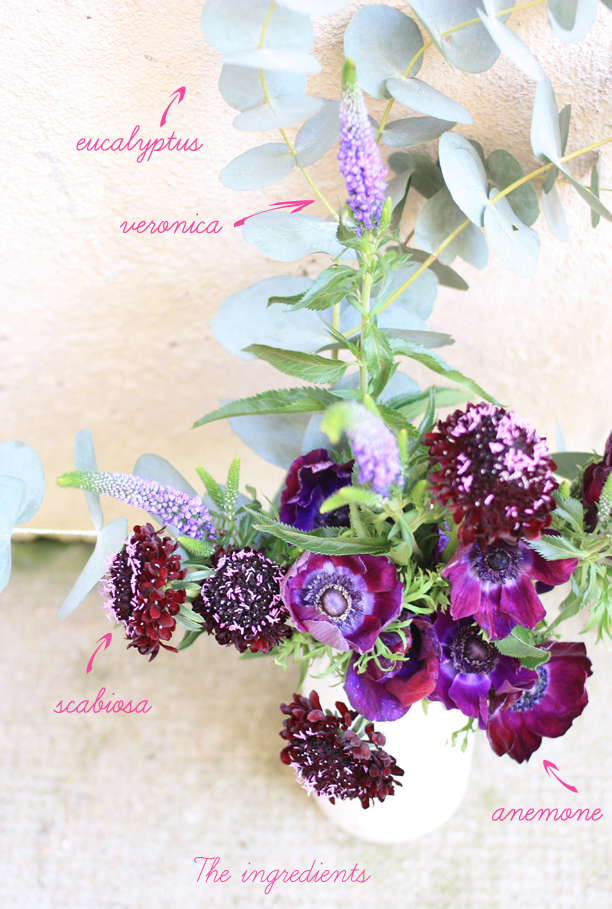 purple bouquet_ingredients