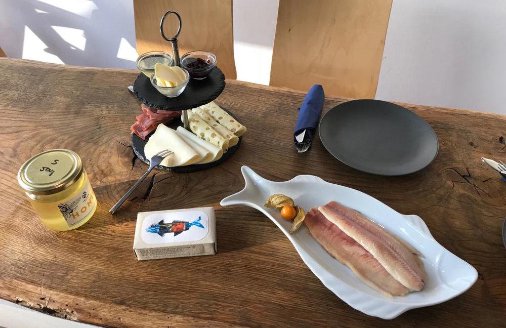 Texte über Frühstück kommt…