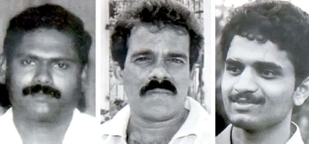 Santhan, Murugan and Perarivalan, convicts in the Rajiv Gandhi assassination case. One of the likely consequences of the decision in their case is a quicker disposal of mercy petitions.