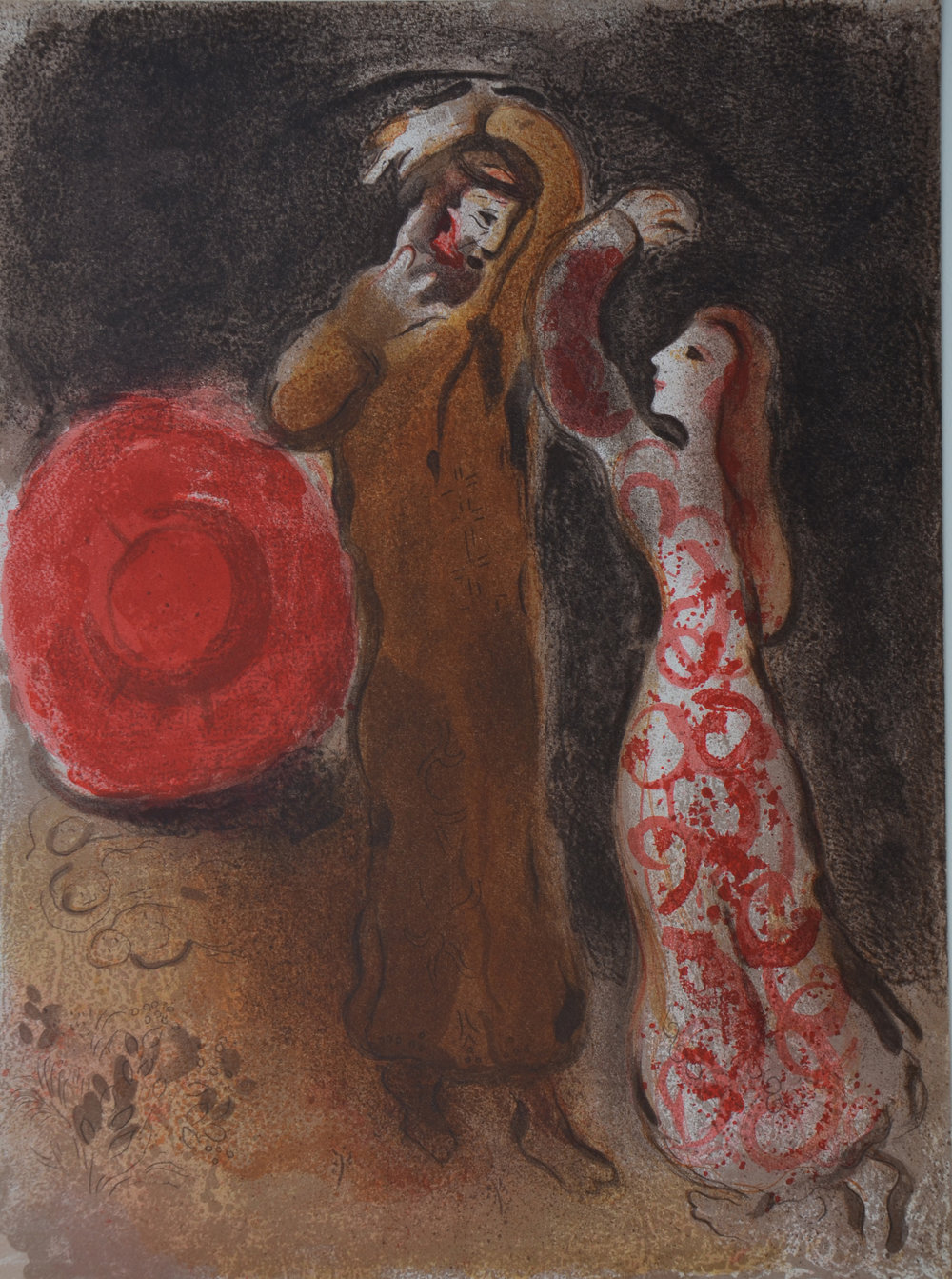27. Chagall, Meeting of Ruth&Boaz 1960 copy.JPG
