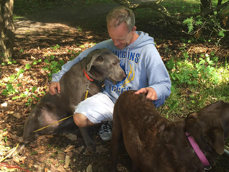 Dr. Sheppard and the Curious Case of the Velcro Weimaraner