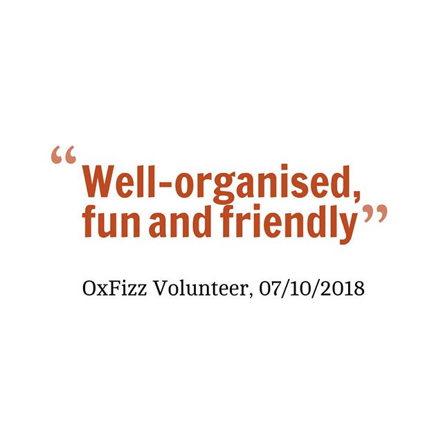 Aw, thanks! 🤗 . Here's what one of our volunteers told us about their experience over the weekend . Yesterday 17 of our volunteers delivered mock interviews to students from the Harrodian School in London. . Thanks to them the day ran really smoothly!  In return for their help, these volunteers raised money for a charity of their choice. . They also supported our access programme, which this year is bigger and broader than ever before. . If you're keen to find out more about OxFizz's events, check out our online event calendar 🎉 . . . #volunteering #volunteer #interview #fundraising #fundraising ideas #graduate #graduatelife #oxforduniversity #cambridgeuniversity