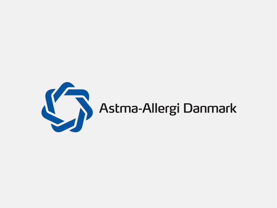 astma-allergi danmark logo, denmark, thebluelabel.eu märkningen den blå krans