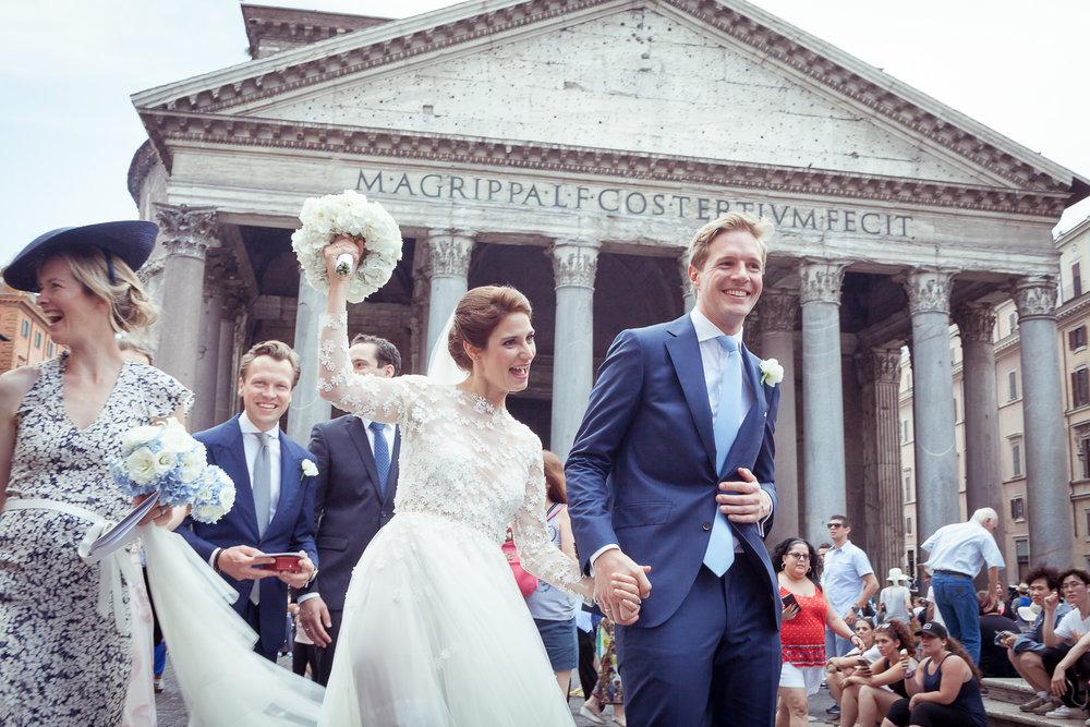 Casina Valadier wedding in Rome