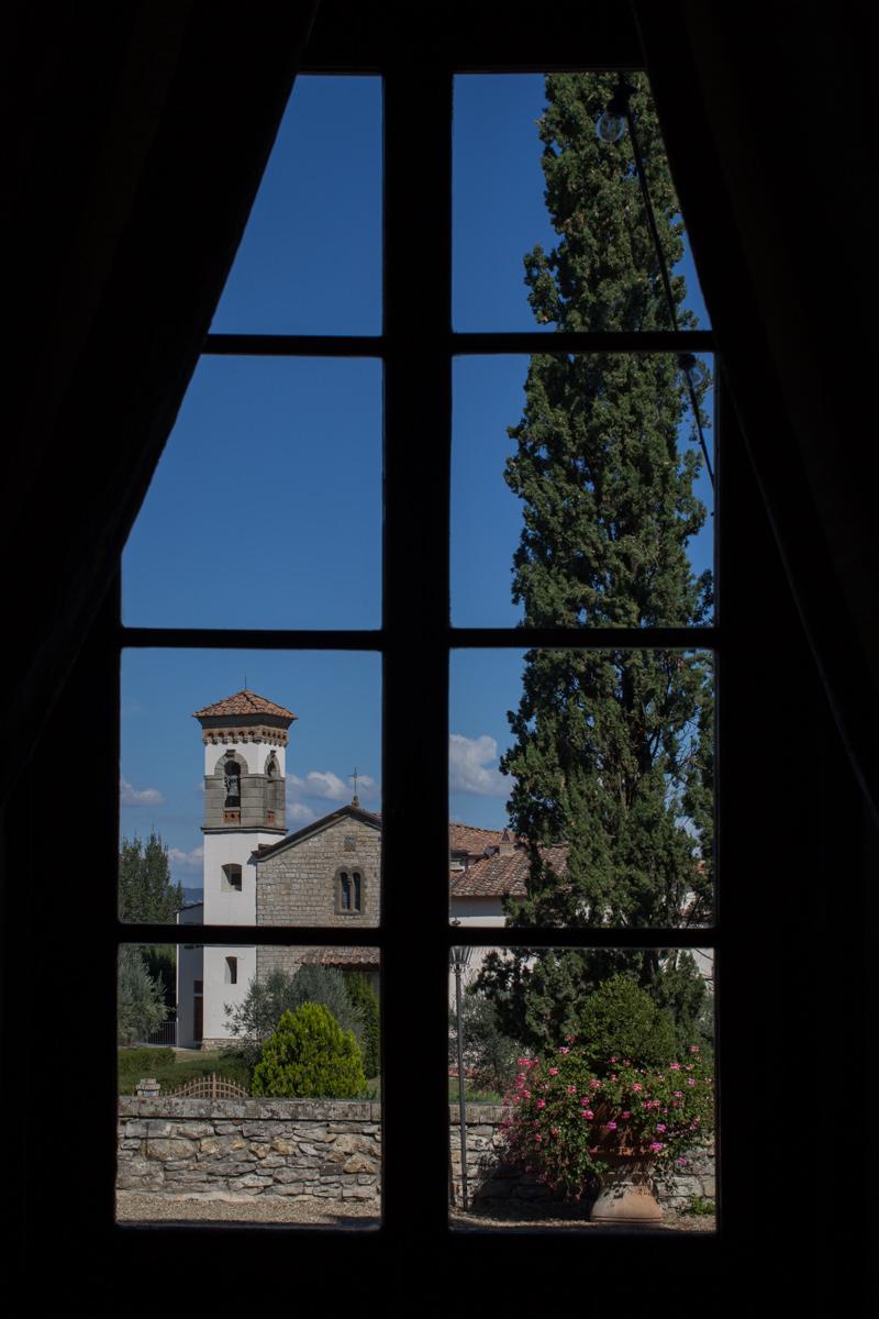 Vicchiomaggio Castle Irish wedding in Tuscany