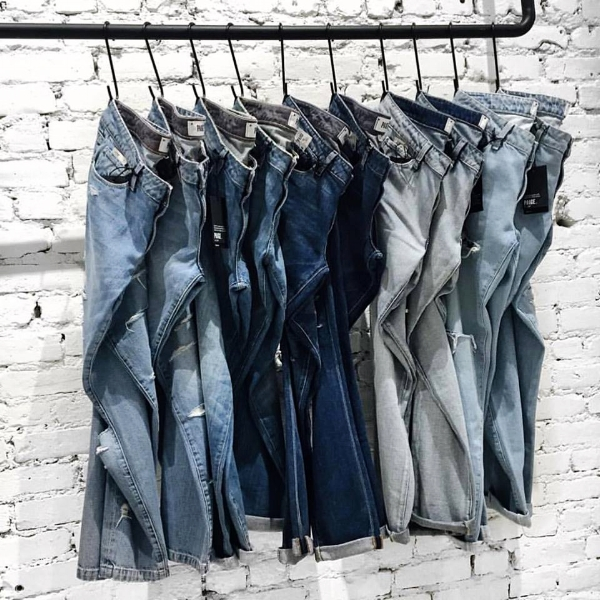 Manhattan Denim Mens
