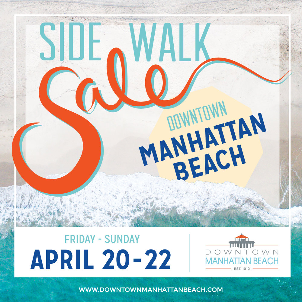 Enjoy prices of up to 75% off at over 75 local retailers in Downtown Manhattan Beach -