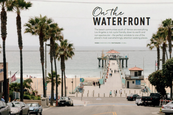AER LINGUS CARA MAGAZINE FEATURES DOWNTOWN MANHATTAN BEACH