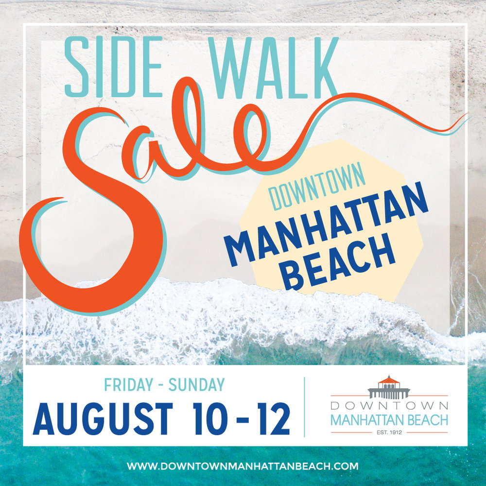 August Sidewalk Sale