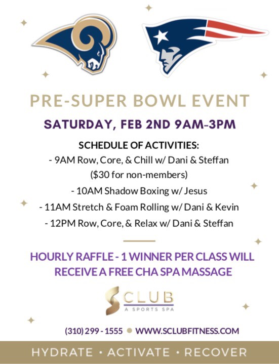 S-Club Pre Super Bowl Event