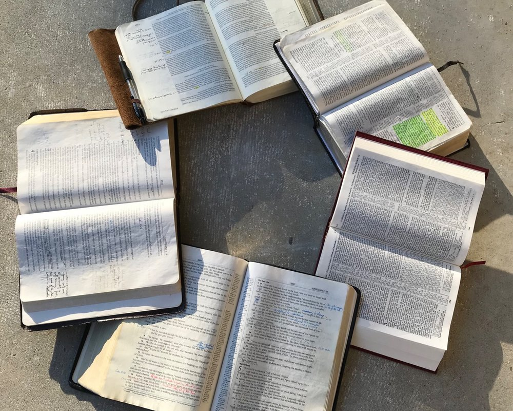 CLASSEs - Find out about our Bible studies: what we're reading together, the days and times we meet, our children's classes, and more!