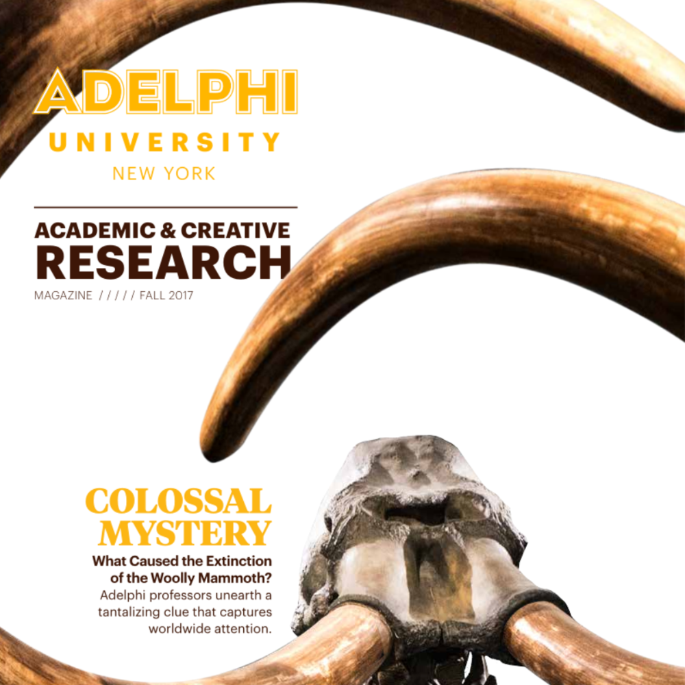 Wrote and edited annual research magazine,  Erudition , showcasing faculty accomplishments.