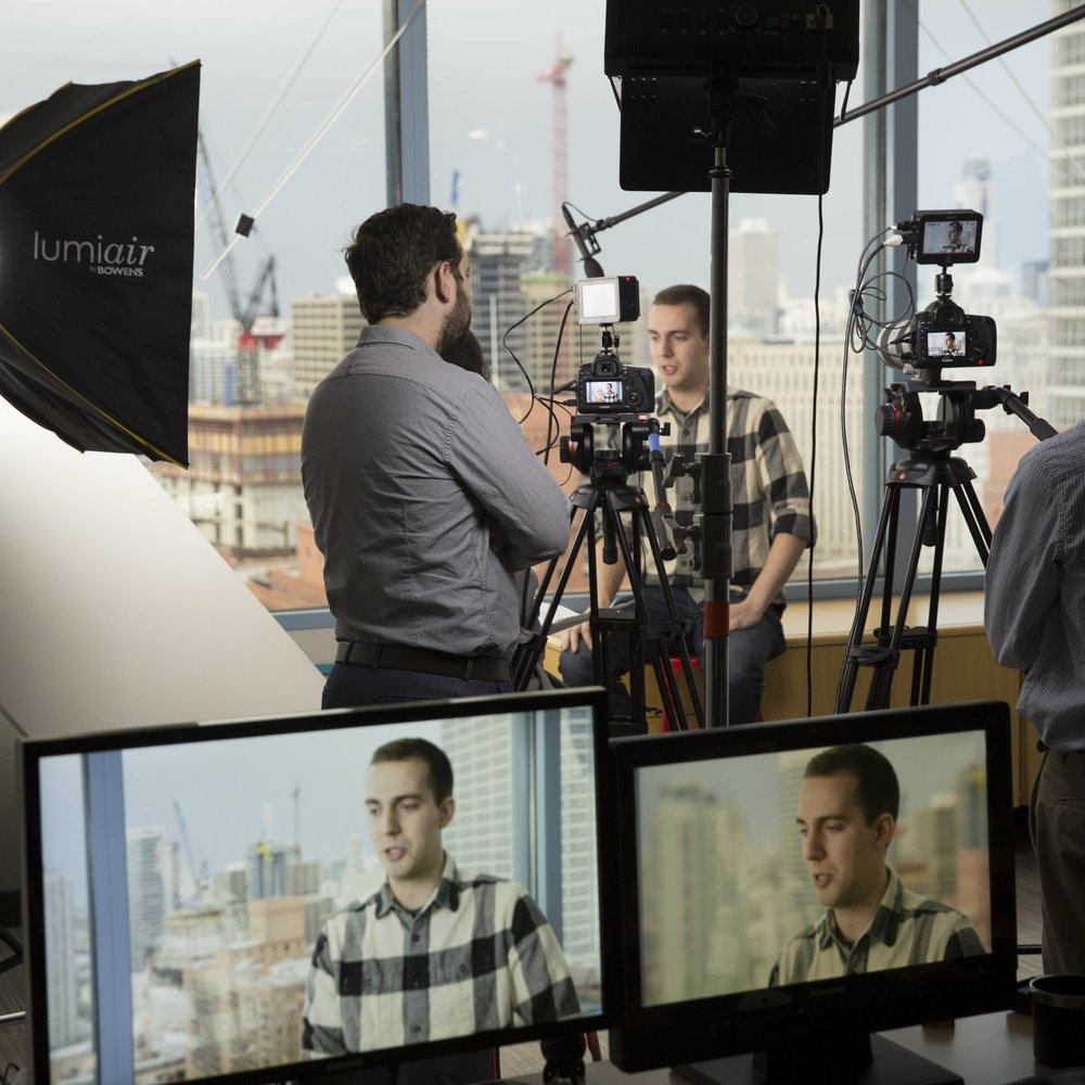 VIDEO PRODUCTION - We are full service when it comes to video production.We can do it end-to-end or take any part of the whole. We are quick, collaborative, and seriously fun. You will love having us as a resource!