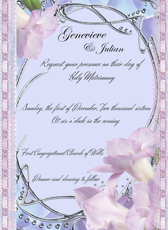 Wedding Invites Karmic Designs