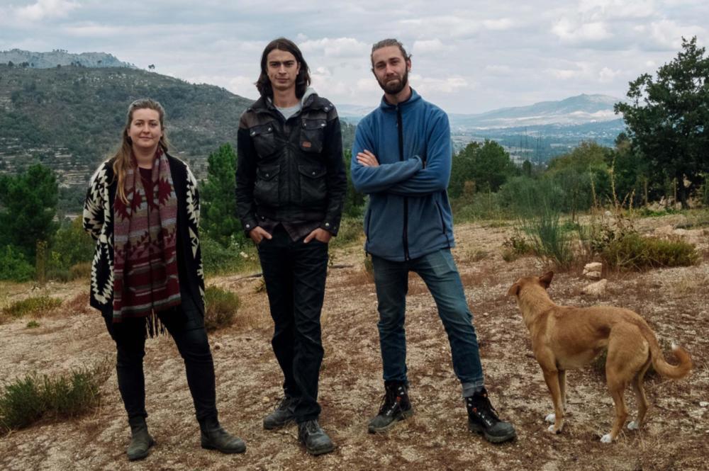 The Faia Collective. Foto genomen door de Portugese krant  Publico .
