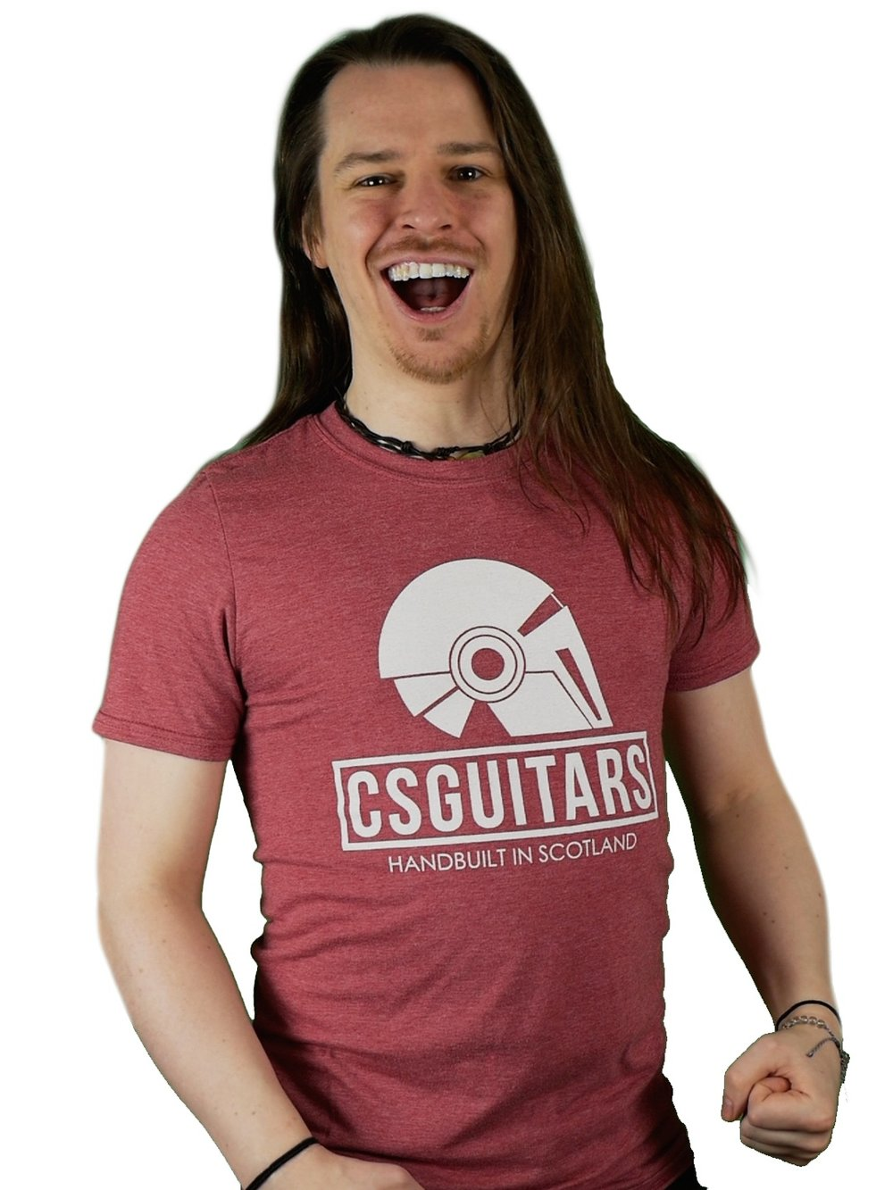 Buy a T-Shirt! - Grabbing yourself a stylish CSGuitars T-Shirt, Beanie Hat, or Pin Badge directly supports CSGuitars while also showing to the world your commitment to the brand. This option allows you to make a contribution and help spread the word. It's the perfect combination