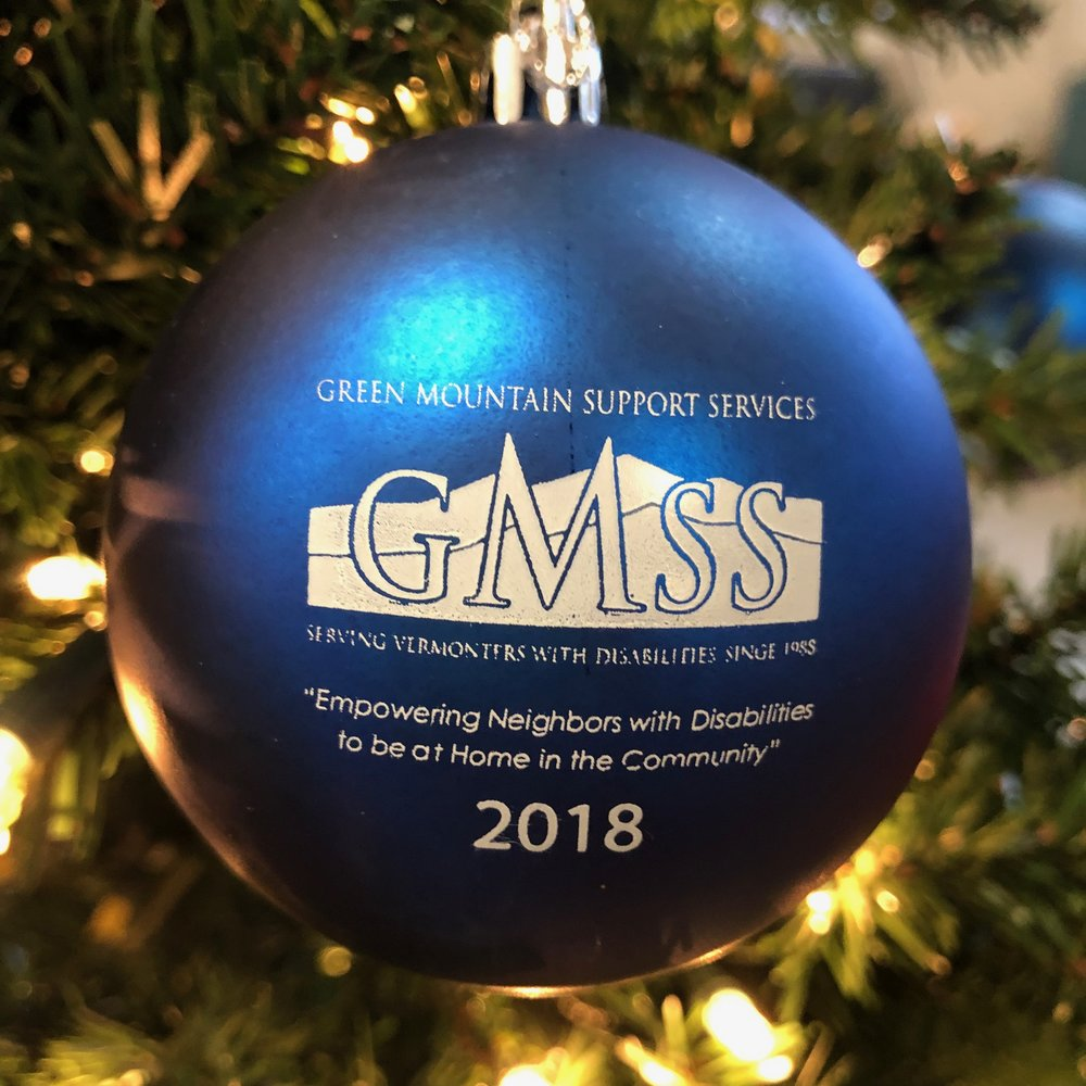 Our 2018 Christmas Ornament is blue!