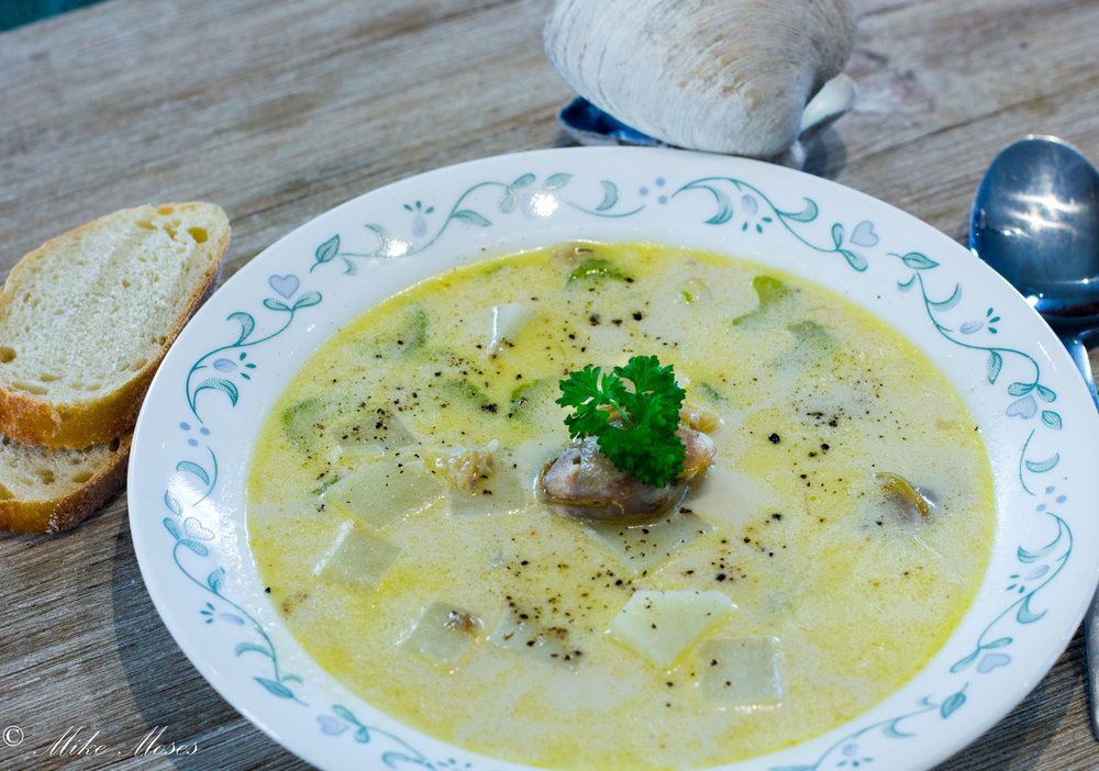 Chef Mike Moses Maritime Clam Chowder