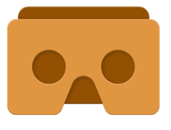 GOOGLE CARDBOARD - Cardboard puts virtual reality on your smartphone. The Cardboard app helps you launch your favorite VR experiences, discover new apps, and set up a viewer.Try out a set of included demos as well.
