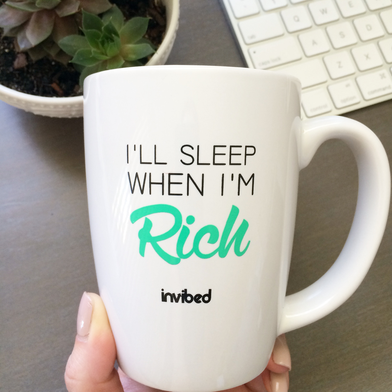motivational quote mug