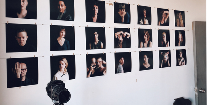 Maria Baranova #facesofdowntownscene portrait project