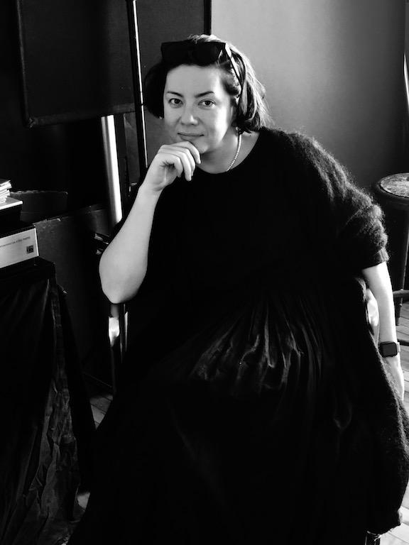 Maria Baranova in her studio