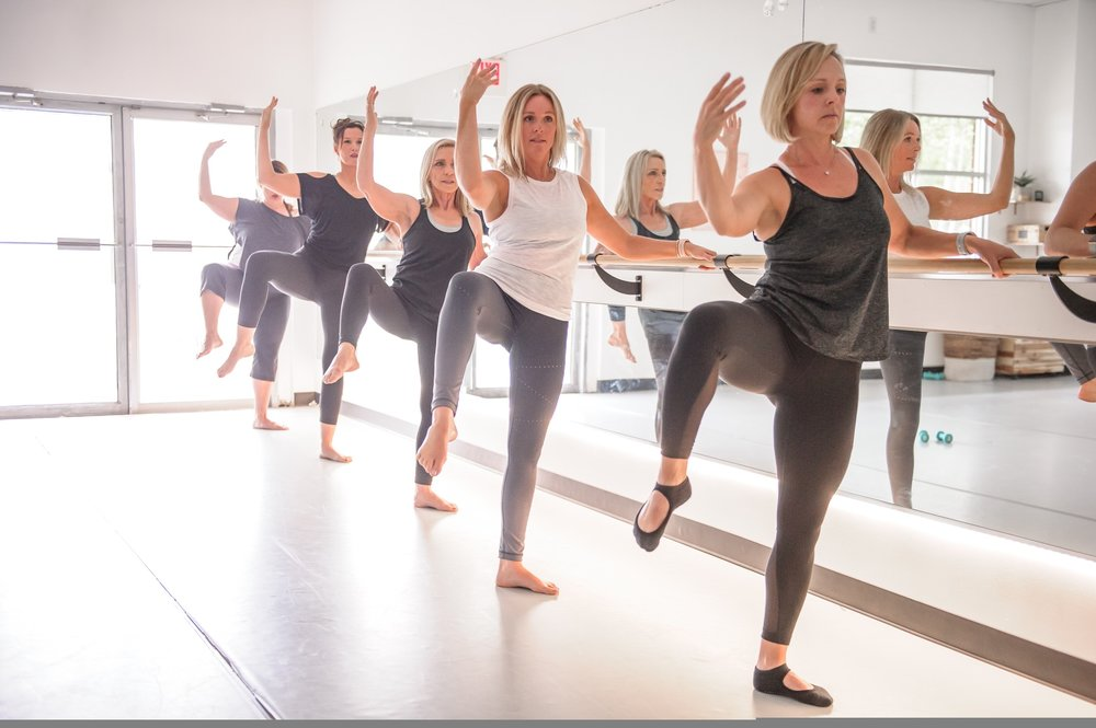 Get social with kirsten and her barre squad. follow them on facebook... click here