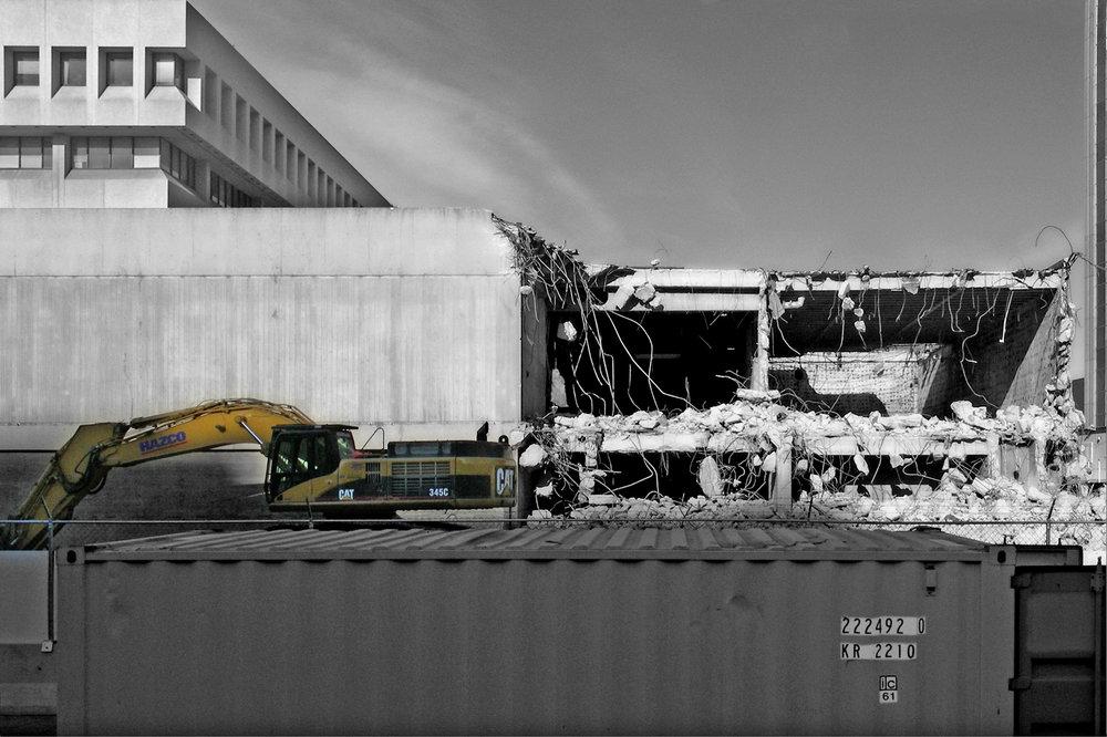 Edmonton Art Gallery Demolition
