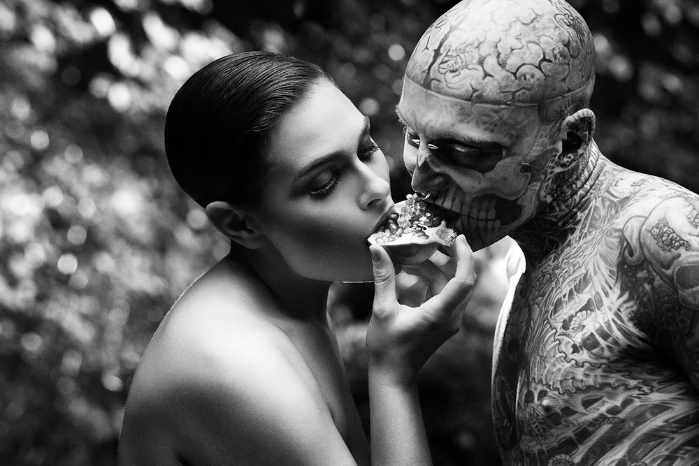 ZOMBIE BOY - FINE ART FASHION PHOTOGRAPHY