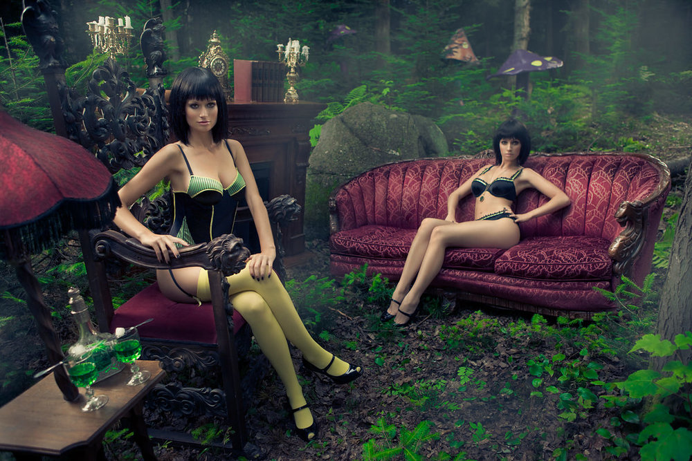 LA FEE VERTE - FINE ART FASHION PHOTOGRAPHY