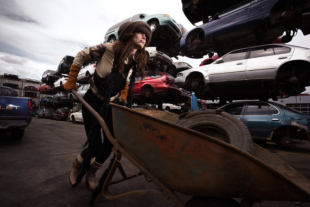 SCRAP YARD - FINE ART FASHION PHOTOGRAPHY