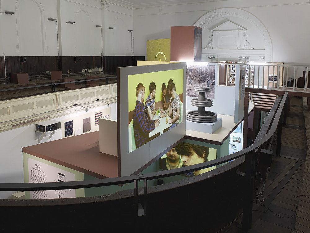 28_Andy Holden, Towards a Unified Thoery of MIMS, Zabludowicz Collection, installation view, 2013.jpg