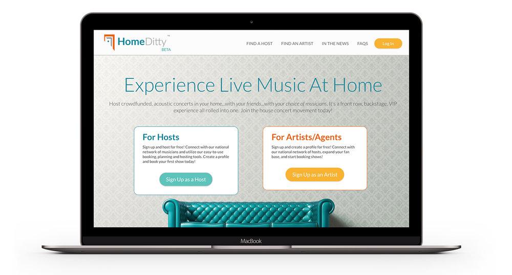 HomeDitty homepage
