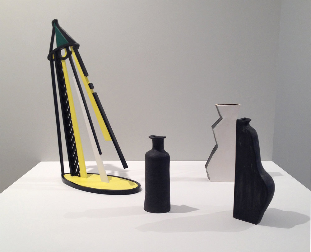 Domesticity , curated by Stephanie Buhmann, Jason McCoy Gallery, NY, NY, 2014. Left: Roy Lichtenstein