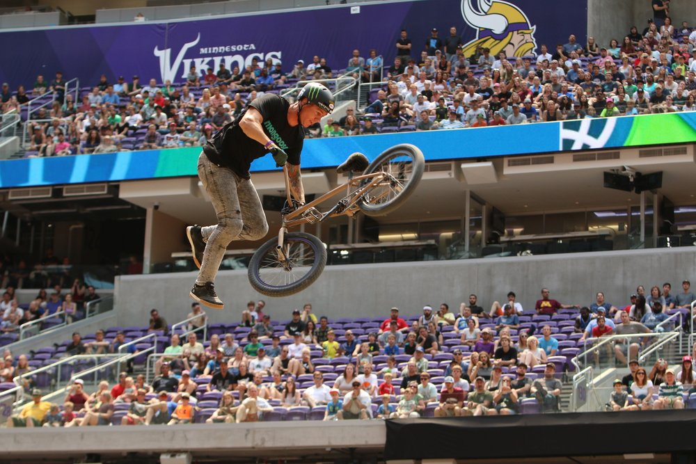 2017 Summer X-Games in Minneapolis, Minnesota