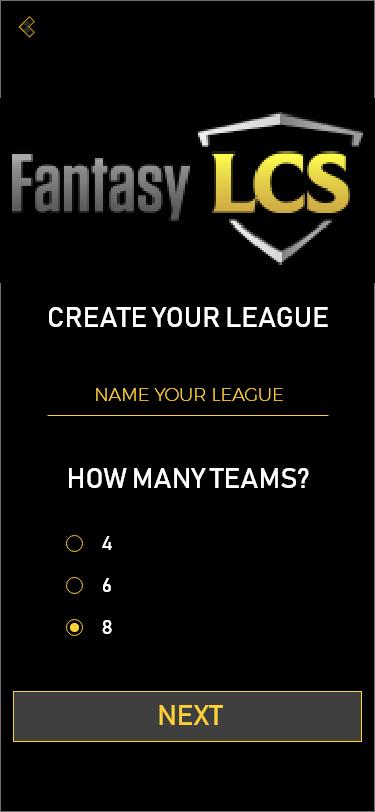 Create League