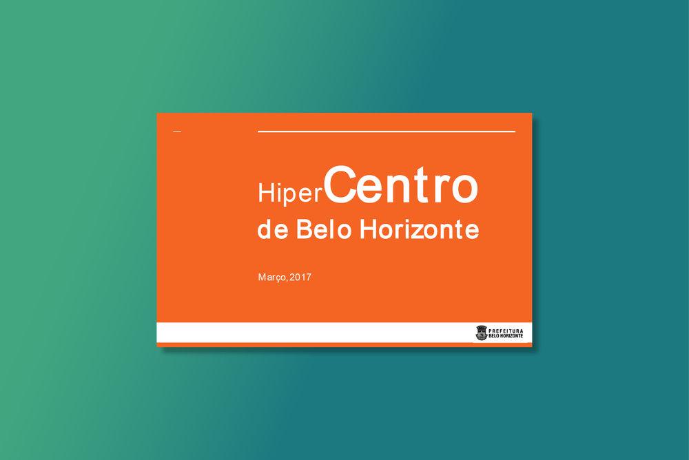 Plano de Revitalização do Hipercentro de Belo Horizonte