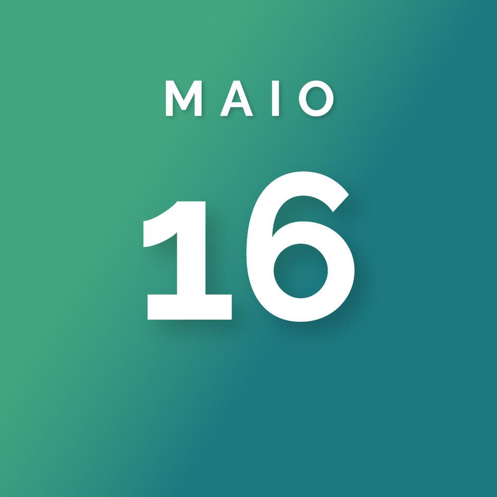 Divulgação da proposta vencedora - Quarta-feira,16 de Maio, 2018