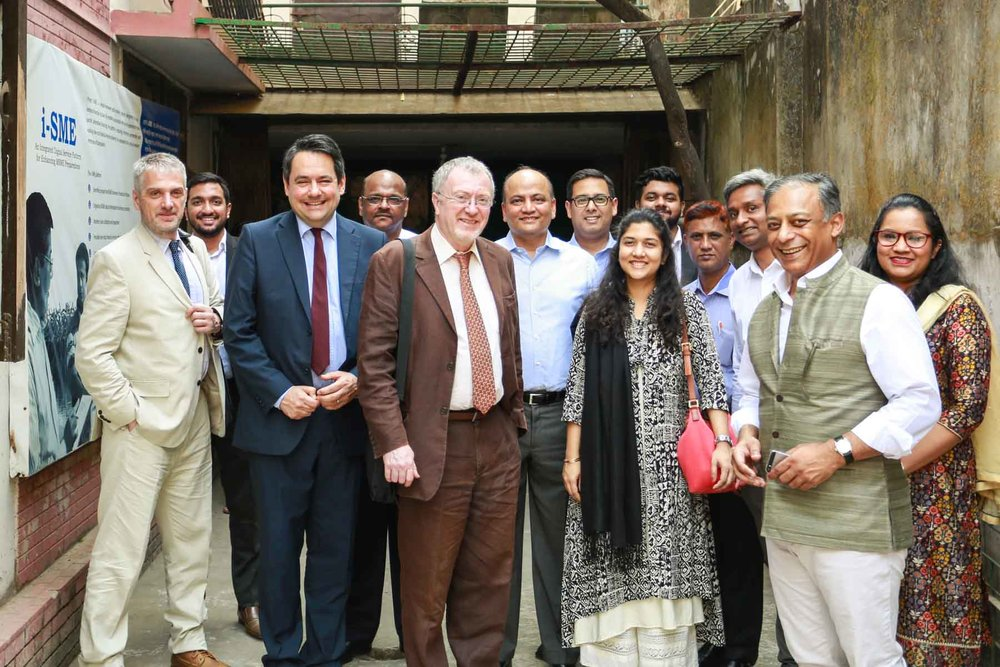 BFP-B IDC visit to SME Centre in Uttara Dhaka
