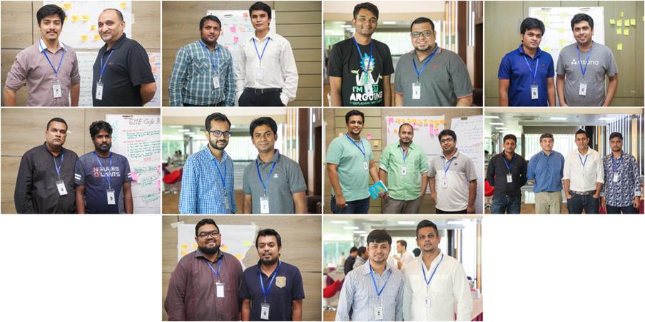 Bootcamp 2018 teams