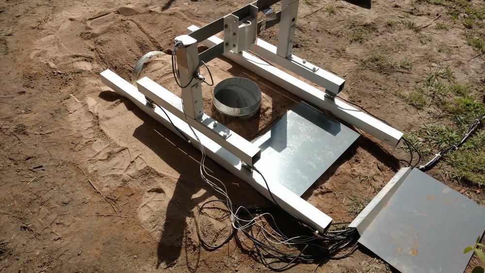 Rocket Motor Test Stand