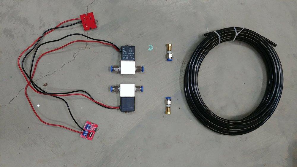 Prototype RCS components