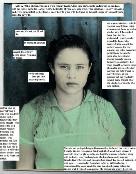 Soldadera de Amor, Poem for Isidra Morales