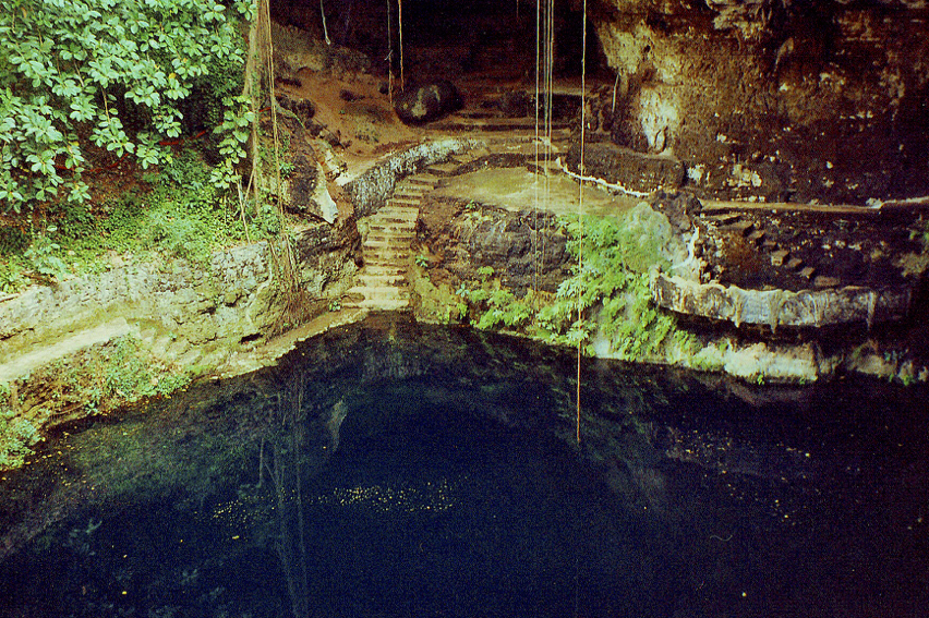 Cenote, somewhere in Mexico.png