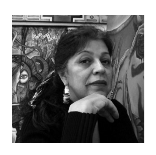 Pola Lopez                      contributor 2014 first edition - ________________________Pola Lopez is a prominent painter and muralist based in Los Angeles. Her work, earth based and feminine centric, took her from her original home in New Mexico to the heart Los Angeles in search of the Chicano Art Movement.Her style of painting is an expression of filtering the mundane reality perception through a multifaceted polychromatic infused spirituality. The resulting images are the fusion of a here now cultural presence with the vibration of the light and energy of spirit.She maintains an open door, working studio/exhibit space, known as 2 Tracks Studio in Highland Park, CA.