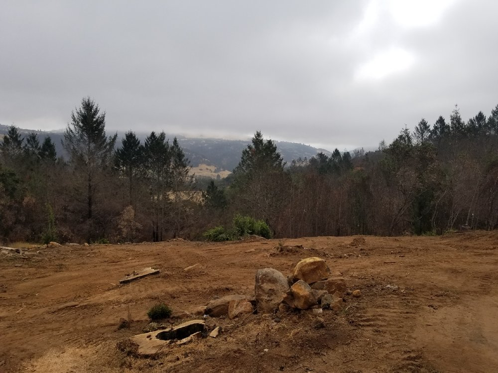 After some delays, the land is at last prepped for the rebuild, which will commence November 2018. My parents are looking forward to their return.