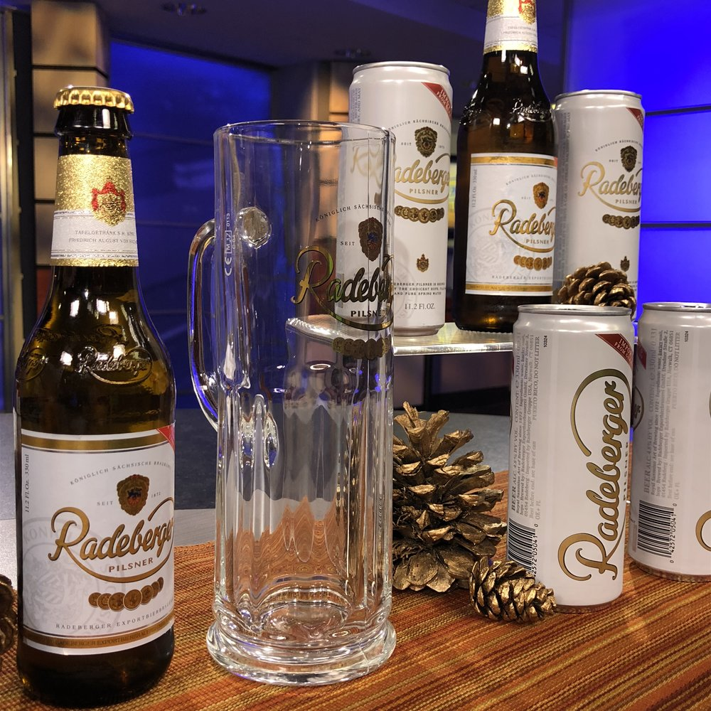 Winter Entertaining Radeberger Pilsner Beer