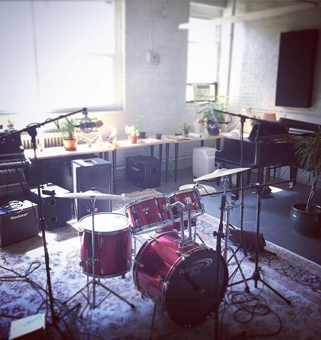 Got a new drum set and doing some recording today 🥁 . . #drums #studio #recording #music #recordingstudio #musicstudio #pianostudio #musicforlife #lynn #northshoreofboston #lydiapinkham