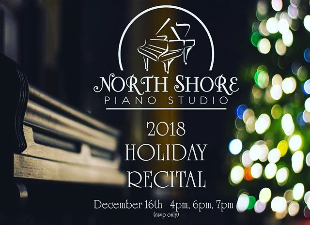 Very excited for today's Holiday Recital!  #pianorecital #pianostudio #pianolessons #lydiapinkham #lynnma #bostonnorthshore #pianoteacher #piano #music #recital #concert #practicemakesperfection